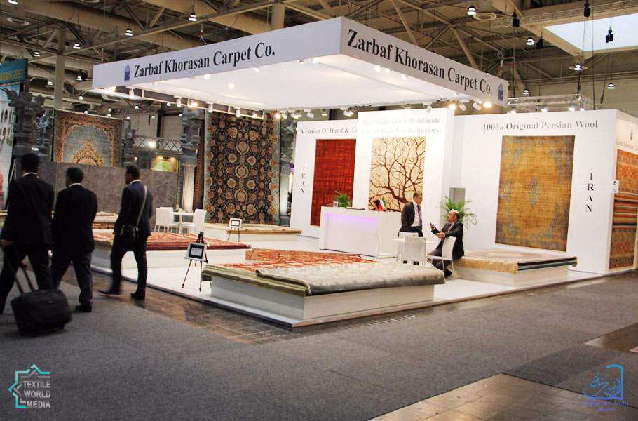 Zarbaf-Khorasan-Carpet-DOMOTEX-2017-TextileWorldMedia
